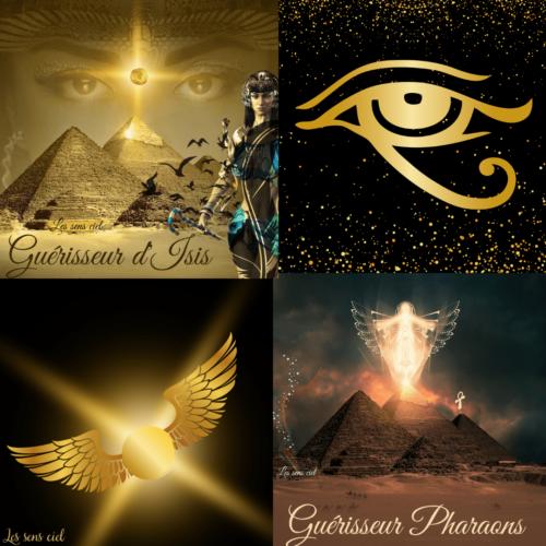 Pack promo Guérisseur d'Isis & guérisseur pharaonspharaons
