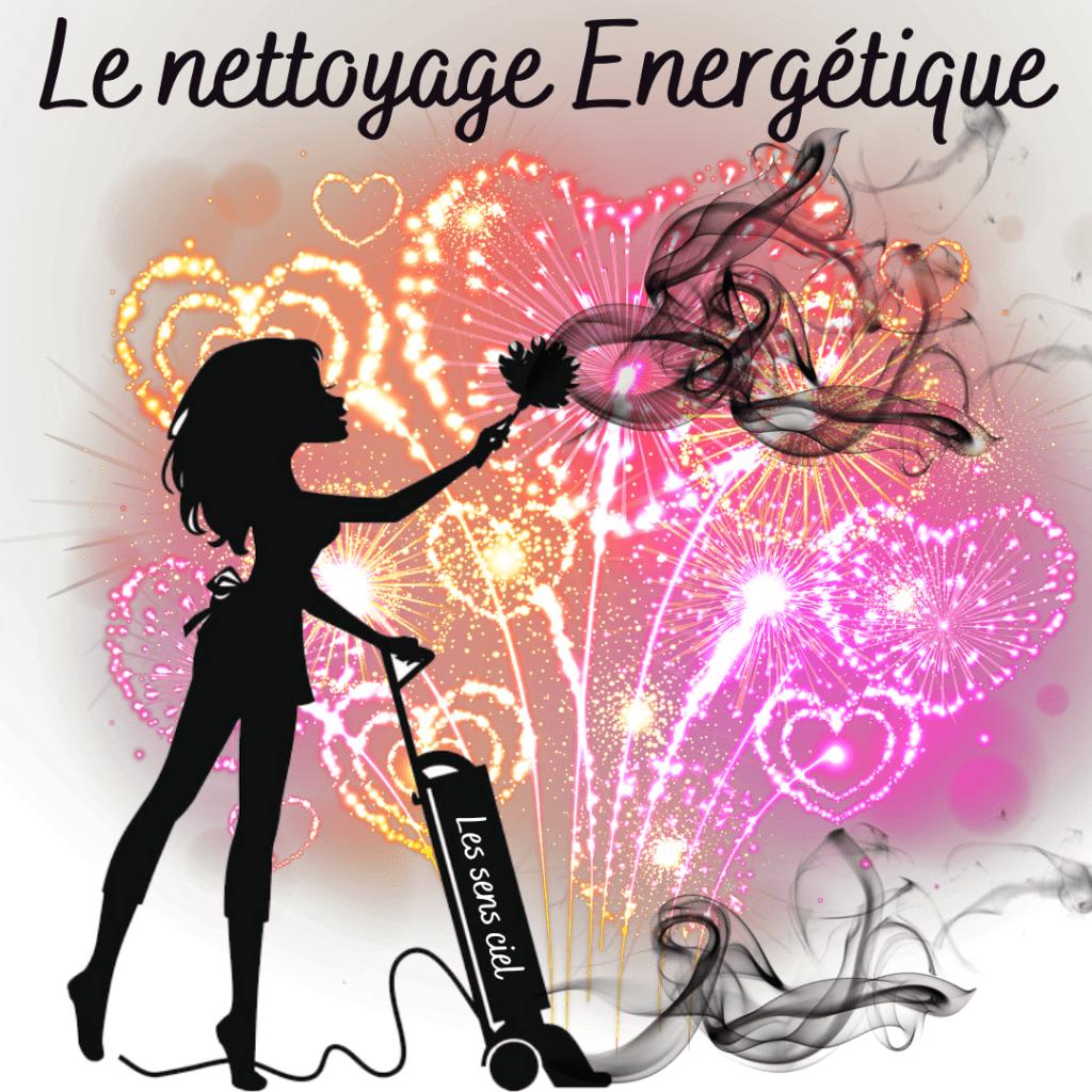 """Nettoyage énergétique """"vite fait, bien fait"""""""