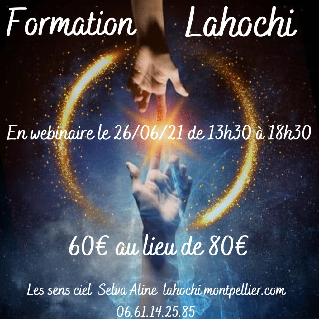 Formation Lahochi en webinaire à 60€ au lieu de 80€