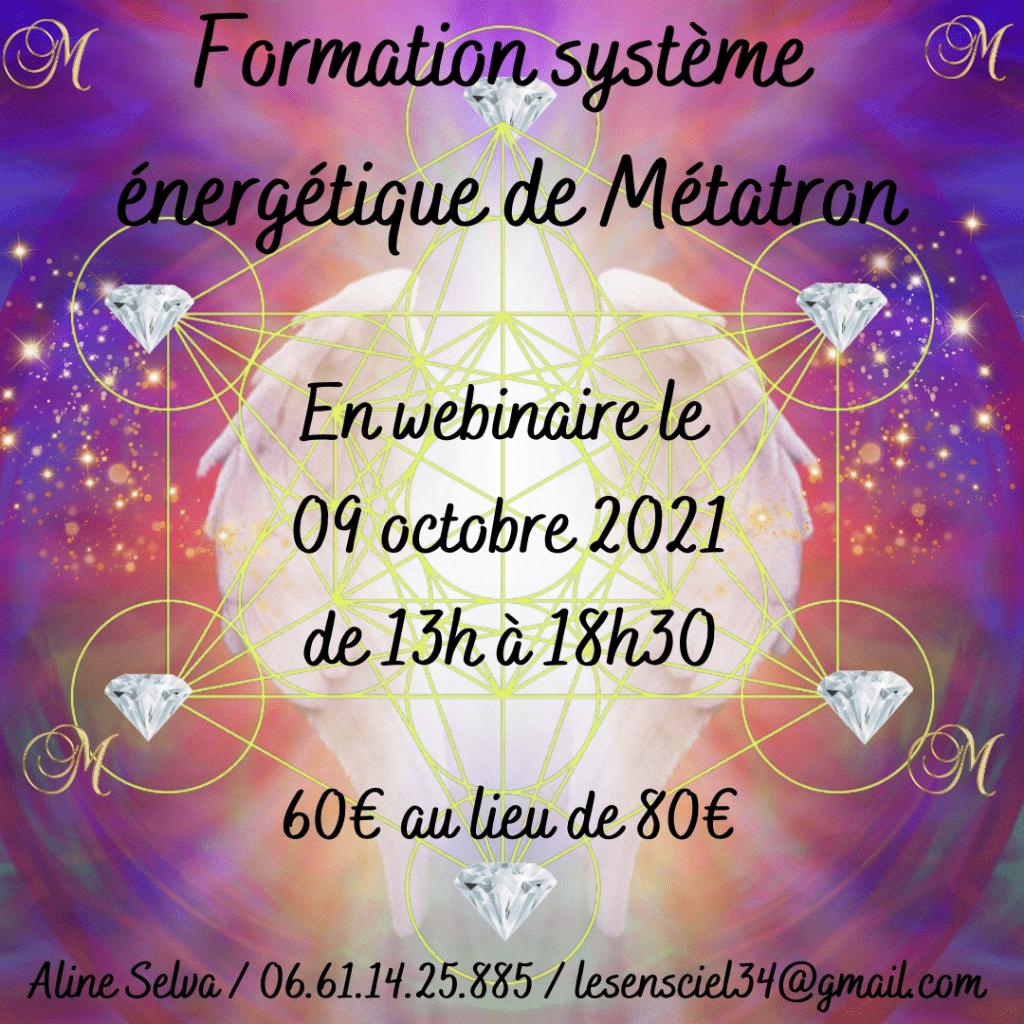formation système énergétique Métatron